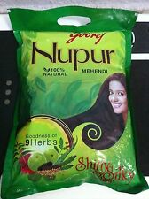 Nupur Henna Natural 400 grams from India