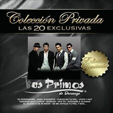 New: Los Primos De Durango: Coleccion Privada Las 20 Exclusivas  Audio CD