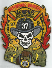 "Memphis  Engine-37 / Batt.-9  ""Westwoods Bravest"", TN (3"" x 4"" size) fire patch"