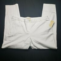 Women's Michael Kors Basics White pants size 14 New With Tags