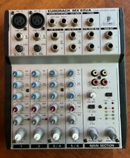 Behringer Mixer Eurorack Mx 602A(Mixer only no Ac cord)Works great!