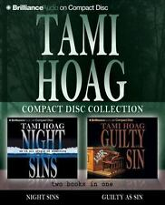 TAMI HOAG Collection Night Sins + Guilty as Sin Audio Books - 10 CD's Abridged