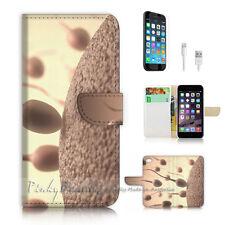 ( For iPhone 7 Plus ) Wallet Case Cover P2076 Sperm