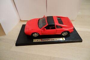 Maisto, Ferrari 348 TS (1990), rot, 1:18, mit Sockel
