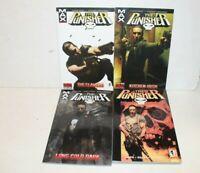Lot of 4 The Punisher Graphic Novels Comic Books Marvel Long Cold Dark Irish