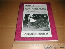 North Belmont North Carolina NC cotton textile mill village town life history