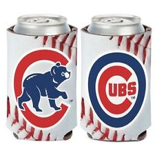 Chicago Cubs ~ (1) Beer Soda Can Coolie Holder 2-Sided Huggie ~ New!