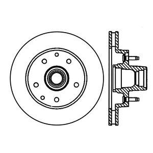 Frt Premium Brake Rotor Centric Parts 120.66017