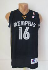 MEMPHIS GRIZZLIES #16 GASOL NBA BASKETBALL JERSEY SHIRT CHAMPION SPAIN BOYS L