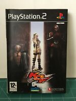 SONY PLAYSTATION 2 PS2 KOF - KING OF FIGHTERS MAXIMUM IMPACT COMPLETE BOXED PAL