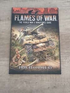 Flames of War: 1939-41 and 1944-45, Softcover, RPG