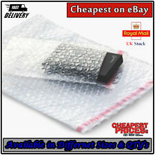 More details for clear bubble wrap bags pouches cushion protective jiffy type packaging envelopes