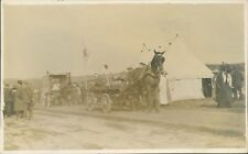 WW1 Postcard 5th Lancashire Royal Artillery Volunteers At Camp First Aid Post