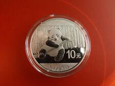 *China Panda 10 Yuan 2014 Silber  1 Oz * (Schub128)