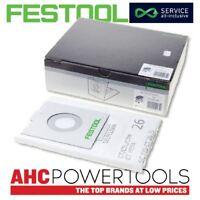Festool SELFCLEAN filter bag SC FIS-CT 26/5 CTL 26 Dust Bag pack of 5 - 496187