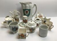 Vintage Crested China Margate Croydon Norwich Wales Chichester Southend And More