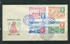 SPANISH CARIBBEAN; 1955 early Habana fine used FDC First day Cover
