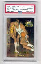 BILL RUSSELL 1996-97 TOPPS NBA STARS FINEST ATOMIC REFRACTOR #90 PSA 10 POP 1