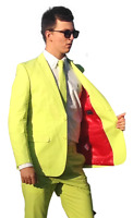 GREEN SUIT Brightly Coloured Suits Prom Suits Wedding Suit Stag Suit Crazy Suits