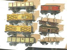 Ives O Gauge Freight and Passenger Car 8 Piece Assortment