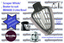 Breville Scraper Whisk to suit 3 Litre BBA600 17.5cm Bowl ONLY - BBA600/03 - NEW