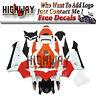 Motorrad Bodywork Fairing Kits Cowling Fit Honda CBR600RR F5 05-06 red white