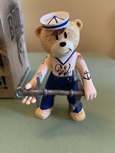 Bad Taste Bears - Jerry, The Tattooed Sailor Bear.