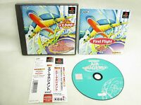 PS1 AIR MANAGEMENT Koei Best with SPINE Card * Playstation Japan Game p1