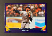 🔥2019 Topps Archives Purple Willy Adames Tampa Bay Rays #263 001/175🔥