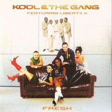 Kool & The Gang feat. Liberty X ‎– Fresh (2-track cd-single)