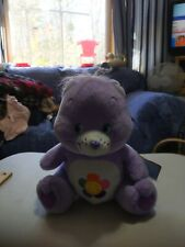 "Care Bears 2004 11""Purple Harmony Bear Plush Stuffed Animal"