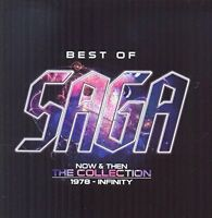 SAGA - Best Of – Now And Then – The Collection [CD]