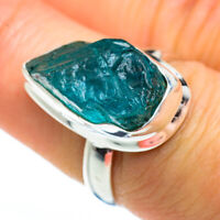Apatite 925 Sterling Silver Ring Size 7.25 Ana Co Jewelry R46124