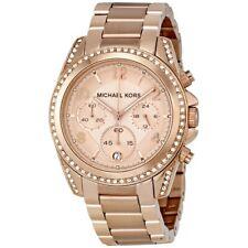 MICHAEL KORS MK5263 Blair Chronograph Rose Dial Ladies Watch