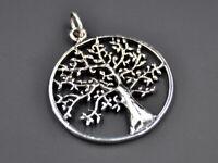 Keltischer Lebensbaum Anhänger 925er Silber Symbol Schmuck - NEU