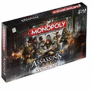 ASSASSINS CREED SYNDICATE MONOPOLY BOARD GAME BRAND NEW & SEALED