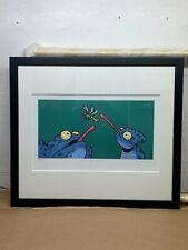 """25x22 Custom Framed """"In Flight Meal"""" Limited Edition Pop Art Print Ed Heck"""