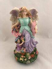 Angel with Child Music Box