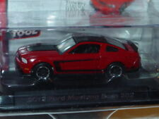 AUTO WORLD 2012 FORD MUSTANG BOSS 302 -Red, CAR & DRIVER w/PLASTIC CASE