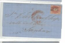 Chile 5c red on cover date June 6 1864 (10beo)