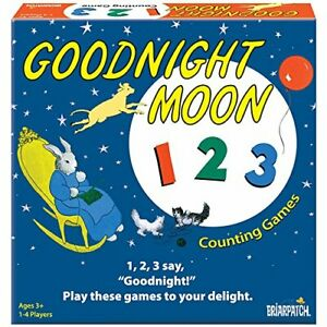 Goodnight Moon 123 Counting Games, Briarpatch, Educational for Children, New!