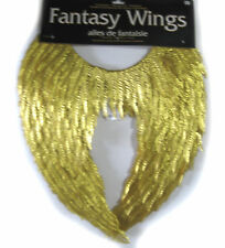Gold Fantasy Wings Sexy Angel Costume Accessory 18x21