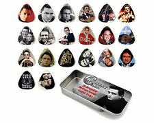 Johnny Cash Guitar Pick Quality Gift Tin - Set of 20