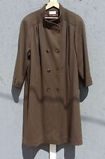 Charles Klein Wool Trench Coat