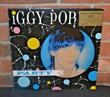 * IGGY POP - Party, Limited Import 180 Gram COLORED VINYL Foil #'d Jacket NEW!