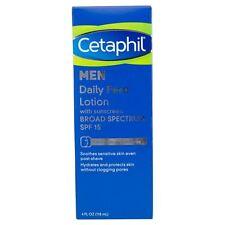 Cetaphil Men Daily Face Lotion Cream SPF 15 4 Ounce Free Shipping 4oz sunscreen