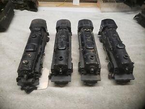 Lionel Prewar Train Steam Locomotive Lot of 4 Assorted Engines Not Tested!