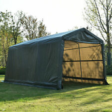 Walcut USHG4095 10in x 15in x 8in Carport - Gray