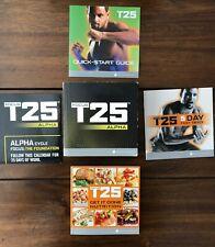 Beachbody Focus T25 Dvd Set Alpha + Beta Workout 9 Discs Complete