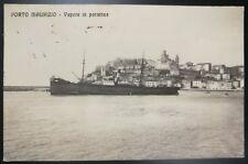 1915 - Porto Maurizio - Vapore in partenza